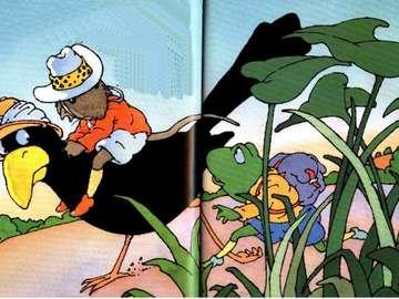 Marie KNKJFDHQFLHMFQ - Zigomar IN AFRICA ILLUSTRAZIONE INF2RENCE