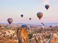 Turkey. Cappadocia. - Na šířku. Turkey. Cappadocia.