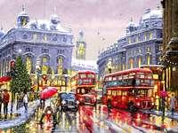 Zimowy Londyn.