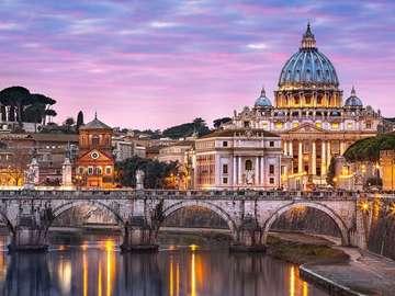 Italien. Vatikan. - Italien. Vatikanische Gebäude.
