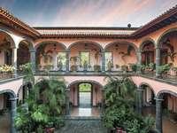 hacienda patio