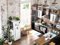 Кухня, таванско помещение