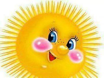 Smiling sunshine. - Smiling sunshine.