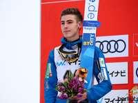 Timi Zajc - Timi Zajc - Slowenischer Skispringer, Vertreter des Vereins SSK Ljubno BTC. Teilnehmer der Olympisch