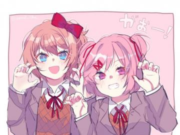 DDLC I LOVE IT... - haha oh my...wait for my next puzzle