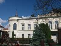 Historisch gebouw in Sandomierz. - Een historisch gebouw in Sandomierz.