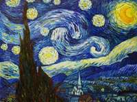 Night Van gogh