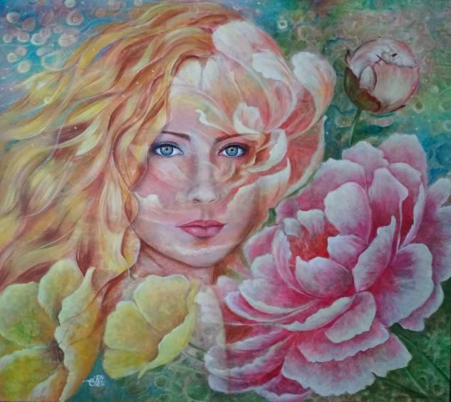 M. Holubieva: Flora. - Malarstwo Mariji Holubievej.