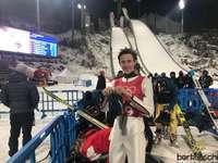 Peter Prevc - Peter Prevc - Slowenischer Skispringer. Einzelne Silber- und Bronzemedaillengewinnerin der Olympisch