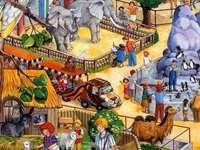 En resa till djurparken