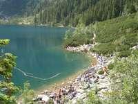 Loisirs dans les Tatras - Les montagnes de Tatra attirent en été, elles sont belles.