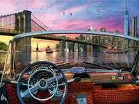 Une vue de brooklyn - États-Unis. Une vue de brooklyn