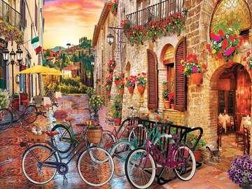 Tuscan picture. - Toskański krajobraz