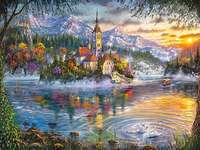Malované krajiny. - Art. Malované krajiny.