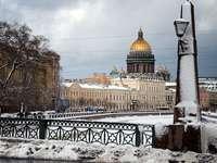 Sărutul podului peste Neva