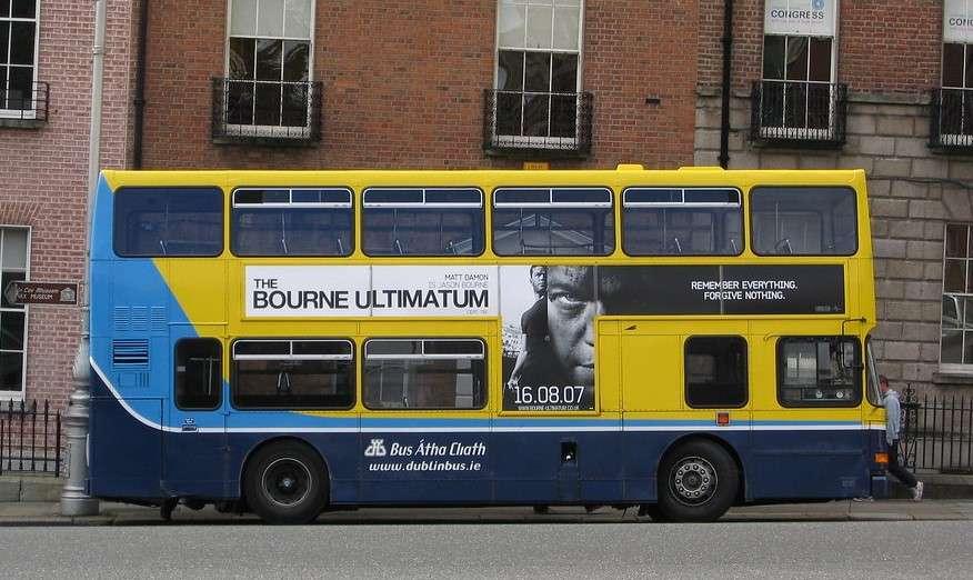 Bus de Dublin - como estan los autobuses en dublin (4×4)