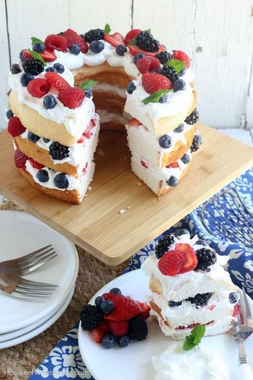 Lahodný a krásný dort