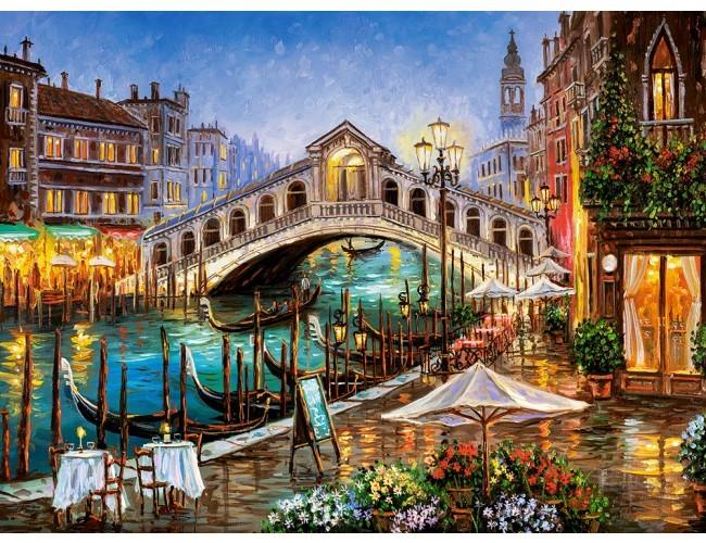 Βαμμένη Βενετία - Art. Ζωγραφική. Βενετία (10×10)