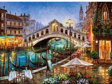 Painted Venice. - Art. Painting. Venice.