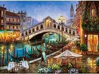 Рисувана Венеция.