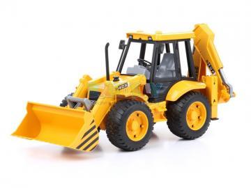 niespodzianka - niespodzianka franka koparka żółta maszyna budowa koparka żółta