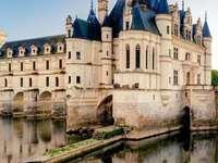 Schloss in Chenonceaux, Frankreich