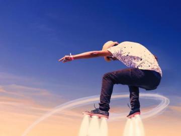 Skyskater - Future Sports - Sky Skating