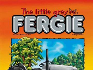 fergie tractor - the little gray tractor