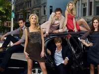 Gossip girl - Gossip Girl - Série américaine pour la jeunesse basée sur une série de romans du même titre éc