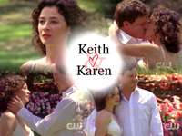 Keith Scott e Karen Roe - Keith Scott e Karen Roe della serie One Tree Hill - Il tempo per l'amore