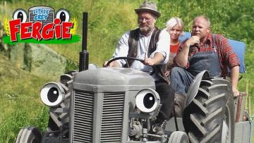 fergie and friends - fergie small gray tractor and friends
