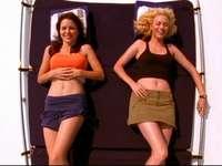 Brooke Davis et Peyton Sawyer - Brooke Davis et Peyton Sawyer du spectacle One Tree Hill - Le temps des amoureux