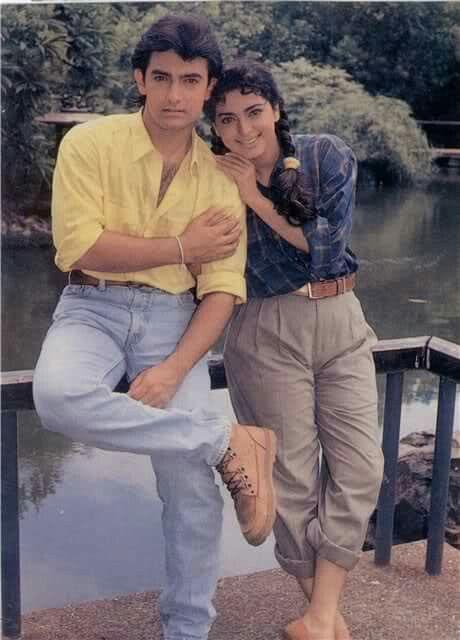 Juhi Aamir & - Juhi et Aamir à la séance photo (10×10)