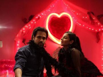 Emraan Vidya & - Vidya and Emraan at the photo session
