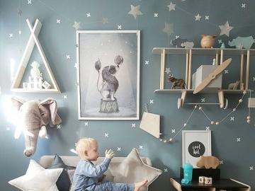 Pokój dla dziecka z pomysłem - Pomysłowy pokój dla małego dziecka