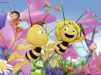 MAYA THE BEE - Maya the Bee puzzle na Rajd Przyrody Muzeum Naturalnego Jean-Marie Pelt.
