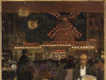 Marie-Line - Stolik Moulin Rouge Pierre Bonnard