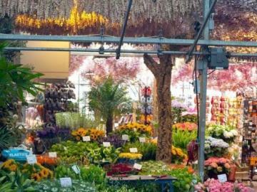 Blumenhändler - Florist in der Stadt