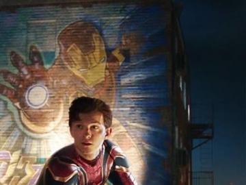 Spiderman: far from home - Still from the newest movie about Spider-Man