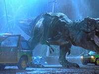 dinossauro - Kadr z filmu Park jurajski''