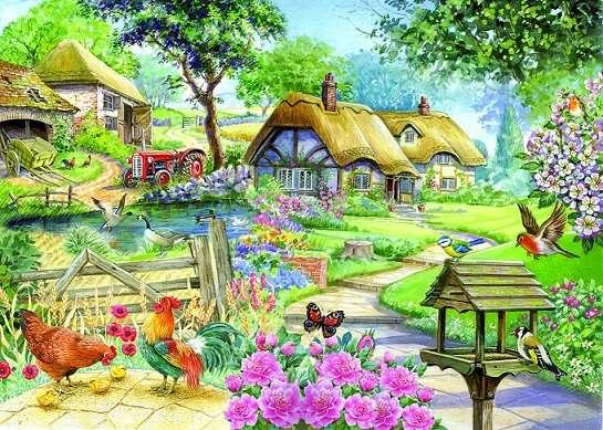 Imagem - Quebra-cabeça. Imagens coloridas (11×9)