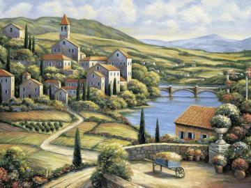 Tuscany. - Painted Tuscany ....
