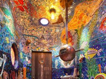 Artystyczna łazienka - Niesamowite malunki w łazience