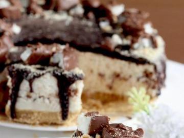 Sernik z czekoladą - Pyszny sernik z czekoladą
