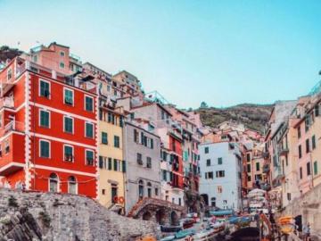 Cinque Terre - krajobraz - Prowincja La Spezia, Cinque Terre
