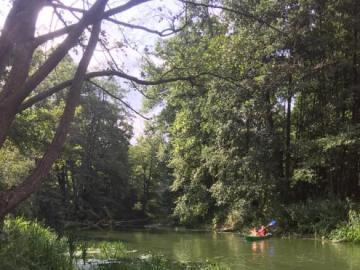 Kajakiem z biegiem Obry - Ciekawe dokąd rzeka zaprowadzi?