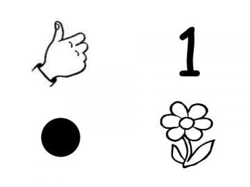 Puzzle numeryczne 1 - Układaj puzzle, aby nauczyć się liczyć