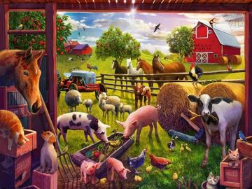 Farm animals. - Farm animals.