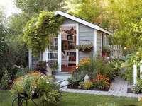 O mică casă fermecătoare