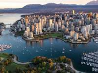 Vancouver - This landscape represents the city of Vancouver to go on a trip